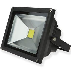 Refletor-Preto-Led-20w