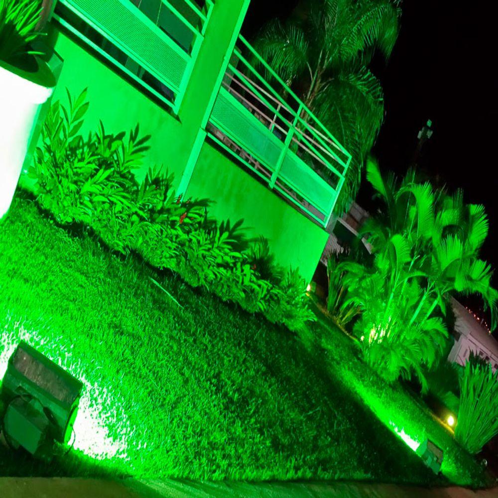 Refletor-Led-Verde-10w