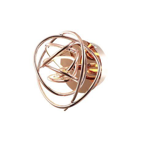 ARANDELA-NINHO-23cm-1-x-LED-12W-ROSE-GOLD